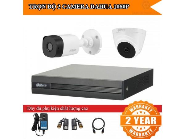 Trọn bộ 2 - 4 camera DAHUA HD1080P cho nhà ở