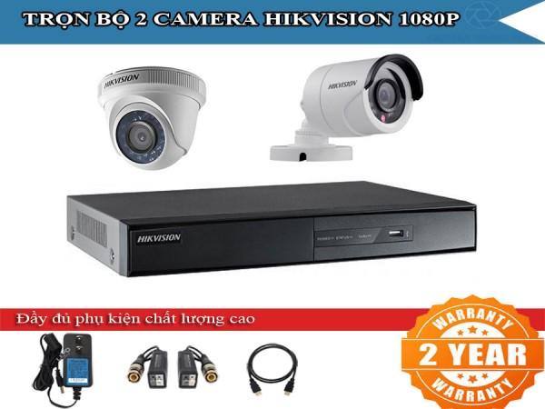Trọn bộ 2 - 4 camera HIKVISION 2.0mpx cho gia đình