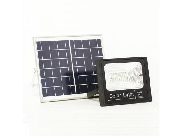Đèn pha năng lượng mặt trời 40W IP67